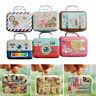 1:12 Dollhouse Miniature Vintage Travel Suitcase Box Color: Case E4F0