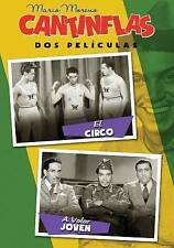 Cantinflas Dos Pelculas : El Circo y A Volar Joven