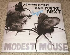 ISAAC BROCK SIGNED MODEST MOUSE NO ONE'S FIRST, AND YOU'RE NEXT ALBUM w/PROOF