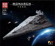 Mould King 13135 Star Wars Monarch Imp Destroyer Building Block Set 11885+pcs