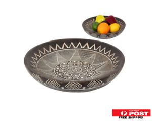 30cm Boho Moroccan Tribal Plate Display Food Bowl Tray Boho style Home Decor