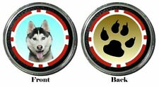 Card Guard - Husky Dog Protector Holdem Poker Chip / Card Cover