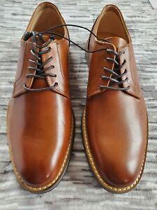 Express Cognac Oxford Dress Shoe. Size 10.