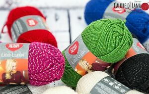 LISA LUREX Red Heart DK - lana acrilica con lurex lamè