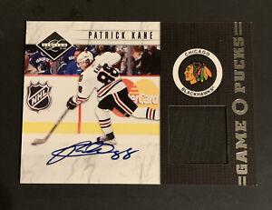 2011-12 Panini Limited Hockey Patrick Kane Puck Auto 18/20 Chicago Blackhawks
