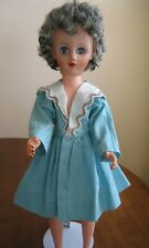 "Vintage 14R - 19"" Fashion Senior Gray Haired Doll"