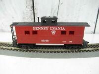 Vintage Pennsylvania Railroad Red Caboose Crew Car Ho Scale 83749
