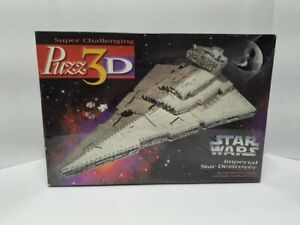 Star Wars Imperial Star Destroyer Puzz3D Puzzle New 1996