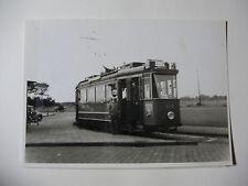 N181 - 1950s AMSTERDAM CITY TRAMWAYS ~ TRAM No418 PHOTO Netherlands