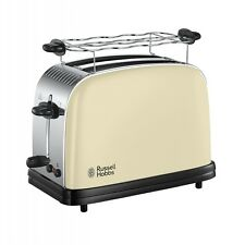 Russell Hobbs Colours Classic Cream Toaster Creme Auftaufunktion 1.100 Watt