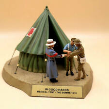 Corgi Forward March CC59188 Battle of the Somme Red Cross Casualty Tent 1/32