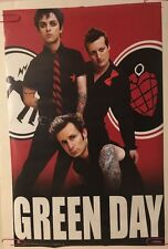 Green Day American Idiot Pin-up Music Memorabilia Poster 2005 Promo Ad