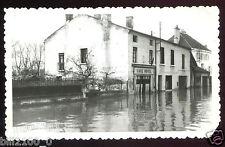 Seurre . Côte d'or . photo ancienne. inondations . crue de 1955