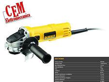 Smerigliatrice angolare Dewalt DWE4056 800 Watt 115 mm no-volt flex smeriglia