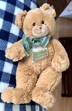 """Super Soft Fluffy Teddy Bear Tan Plush Toy Stuffed Animal 11"""" Baby Child"""
