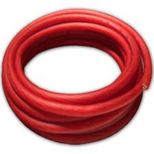 Cobre rojo cable cable de alimentación OFC cable plus power cable 10qmm rojo//m