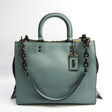 Coach Rogue With Signature Chain 40730 Women's Leather Handbag,Tote Bag BF520981