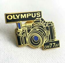 * Olympus OM-77AF Camera Enamel Hat Bag Lapel Pin Photography Collectible NEW