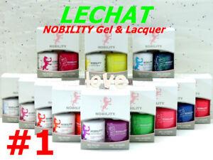 LECHAT NOBILITY LED/UV GelColor & Free Nail Polish Duo Set #1 /Choose Any Color