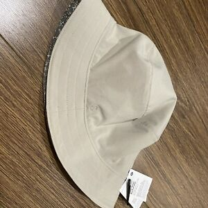 New Lululemon Both Ways Bucket Hat - Grey/Tropical- Size M/L
