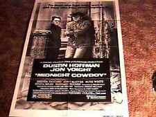 MIDNIGHT COWBOY MOVIE POSTER RR80 DUSTIN HOFFMAN