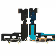 "iPhone 7 Plus 5.5"" Lightning Charging Block Port Mic Connector Flex Cable Black"