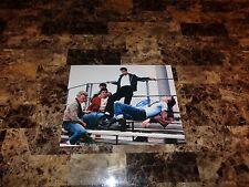 John Travolta Rare Hand Signed Poster Photo Grease Danny Zuko Legendary Actor +