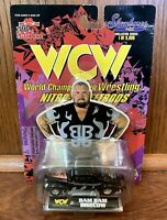 Bam Bam Bigelow Vintage WCW Nitro Streetrods 1/64 Diecast Car NIB New 1999 ECW