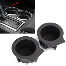 For Ford F-150 Expedition Navigator Front Console Cup Holder Inserts 2 Pieces