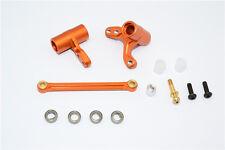 HPI BULLET3.0 MT ST WR8 FLUX Aluminum Alloy STEERING ASSEMBLY BELLCRANK Orange