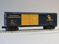 MTH RAIL KING C&O BOXCAR 5908 O GAUGE train double door 30-4244-1-B NEW