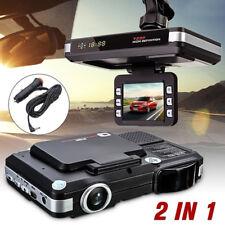 """2.0"""" Car Dvr Recorder Camera Radar Laser Speed Detector Traffic Alert s!CYN"""