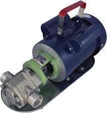 Power Stainless Steel Wcb50 Mini Gear Oil Pump 13 Gpm Wmo Wvo Biodiesel Motor