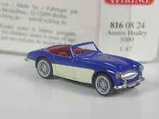 Rare: série wiking modèle Austin Healey 3000 Bleu-Crème en OVP