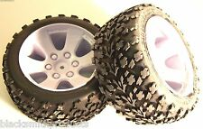 BS903-001 1/10 RC Nitro Buggy Off Road Wheels and Tyres x 2