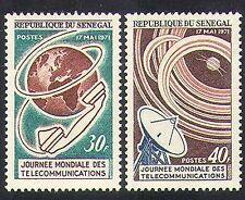 Senegal 1971 comunicazioni/Radio/Satellite/Telefono/Reti 2v Set (n36590)