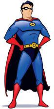 SC-175 Superhero Höhe 182cm Pappaufsteller Kinoaufsteller Aufsteller Figur