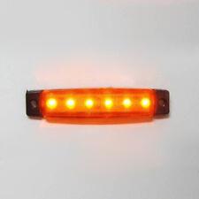 1 x LED 12V Arancione lato posteriore Marker Luce Camion Rimorchio IMPERMEABILE TRANSPORTER