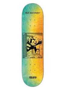 "Darkstar Skateboards Dave Bachinsky Felix Future R7 Skateboard Deck - 8.125"""