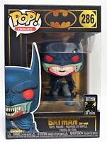 Funko Pop Batman Red Rain # 286 Batman 80 Years DC Heroes Vinyl Figure Brand New