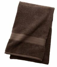 NEW!   2 THE BIG ONE KOHL'S SOLID SLATE BROWN CHOCOLATE COTTON BATH TOWELS
