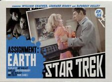 Star Trek TOS Captains Collection Lobby Chase Card #55 Assignment: Earth