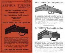Arthur Turner 1976 Guns Catalog, Sheffield, Engl.