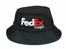 FedEx Freight Flexfit Bucket Hat Yupoong Fishing Cap Custom Embroidery Black