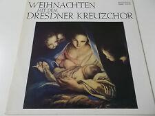WEIHNACHTEN MIT DEM DRESDNER KREUZCHOR - 1981 ETERNA VINYL LP (8 25 490)