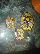SAN DIEGO DULZURA SOUTH BAY ROD & GUN HUNTING CLUB EMBROIDERED DUCK PATCHES NOS