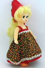 Best condition! Rare Vintage Plastic Doll Ussr (Russia,Russian) 9.8 inch