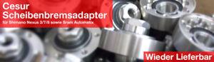 Cesur Scheibenbremsadapter Disc Brake Adapter SRAM Automatix