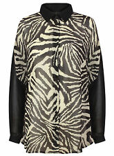 Women's Polyester Animal Print Tops & Shirts ,no Multipack