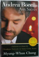 ANDREA BOCELLI AIRS SACRES CONCERT DVD Chung NEW SEALED